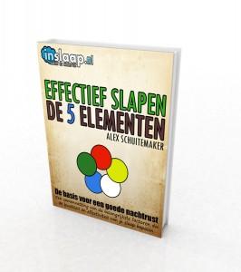 Cover van het boek effectief slapen