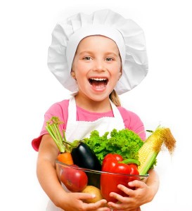 gezond lachend kind