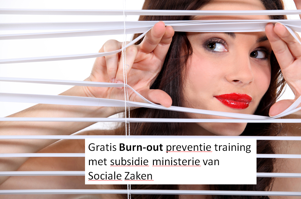 Gratis burn-out trainingen dankzij subsidie