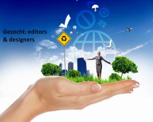 Editors en designers gezocht