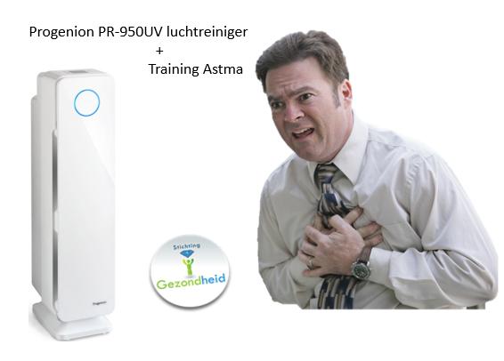 Progenion PR-950UV luchtreiniger met cursus Astma
