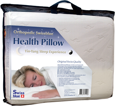 Swissblue Health Pillow - Gezondheidstraining met gezond kussen