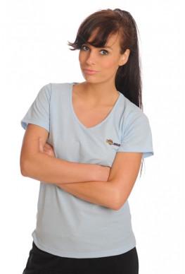 Gezondheid Tshirt dame blauw