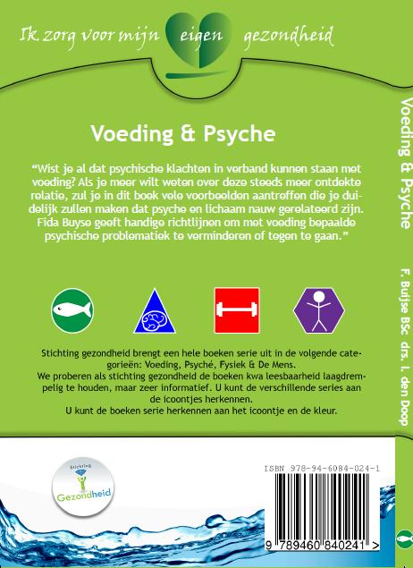 Boek voeding en psyche-achterkant