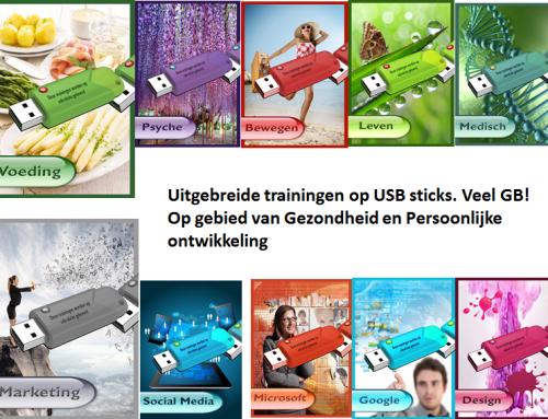 11 expert trainingspakketten op USB