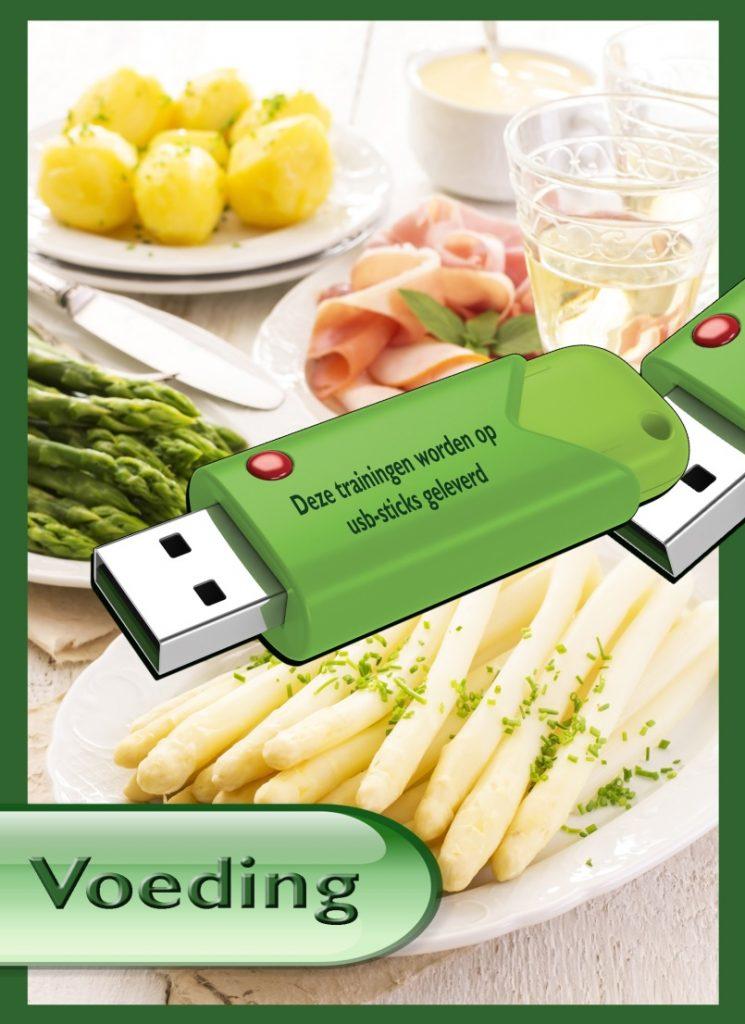 Cursus Voeding Expert  op USB sticks