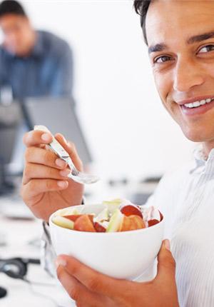 Mindful eten op het werk
