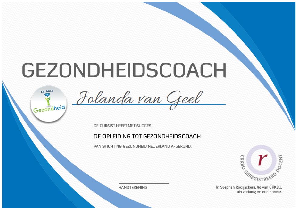 gezondheidscoach-certificaat