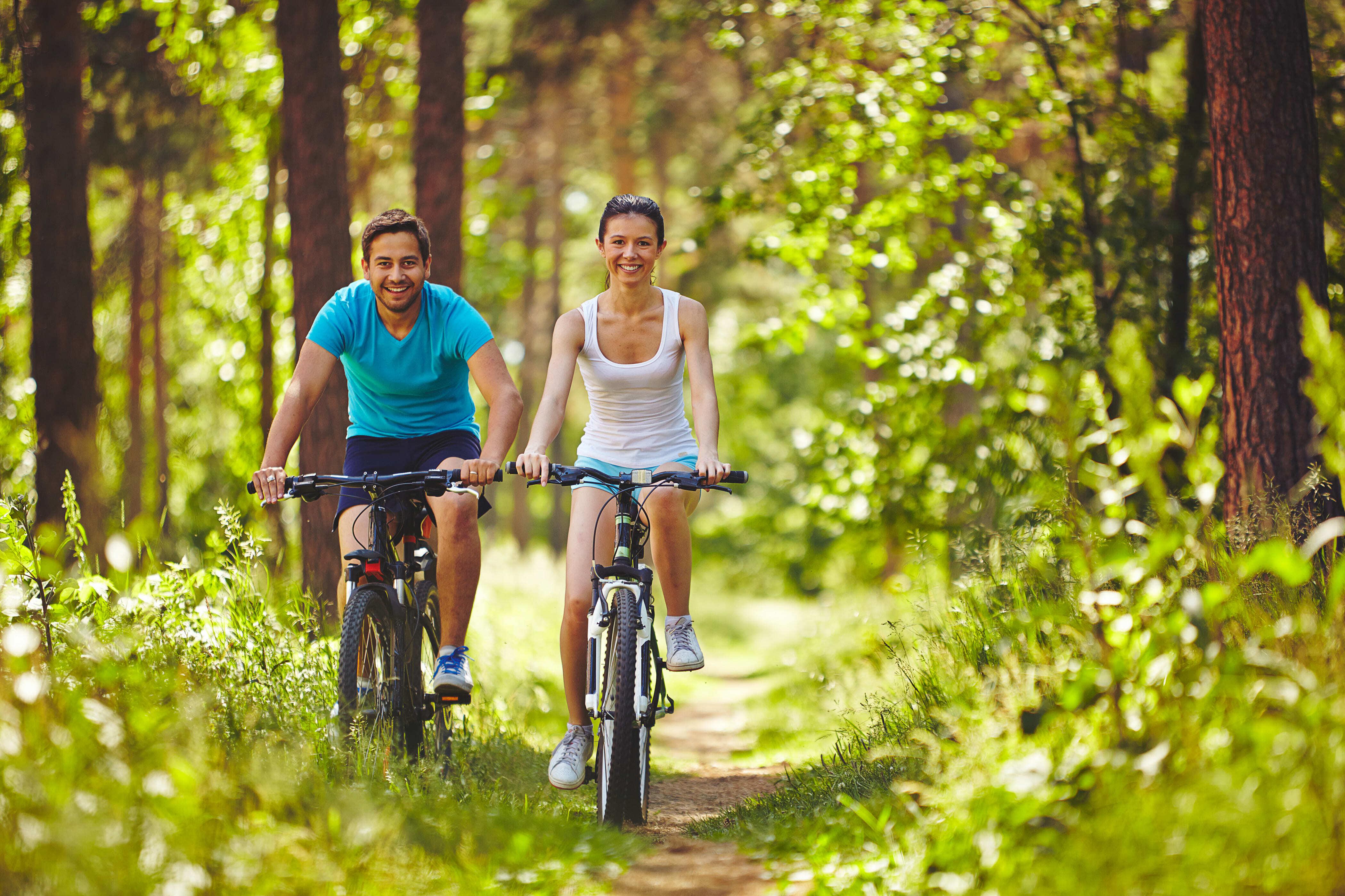 Fietsen: een gezonde bezigheid