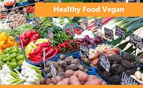 Healthy Food - Vegan